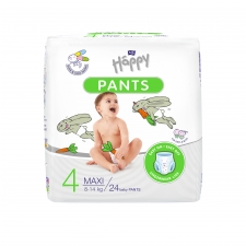 Happy Pants püksmähkmed Maxi 8-14kg 24tk