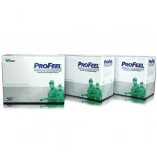 Profeel DHD Platinum steriilsed kirurgilised puudrita kindad